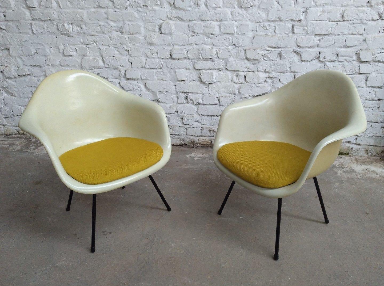 LAX Sessel von Charles & Ray Eames für Mobilier International, 1970er,...