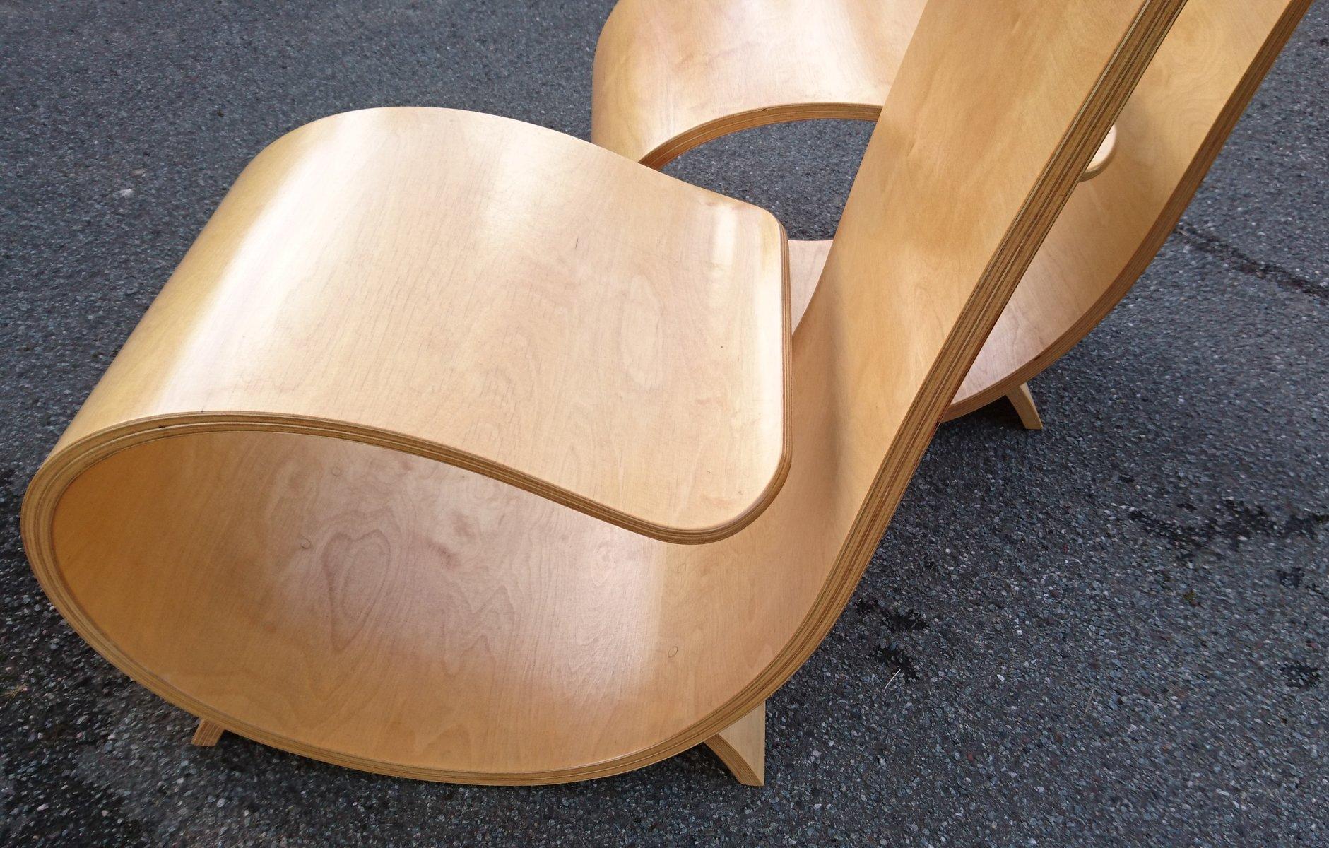 Sedie Schienale Alto Legno : Sedie con schienale alto in legno di betulla laminato arrotolato