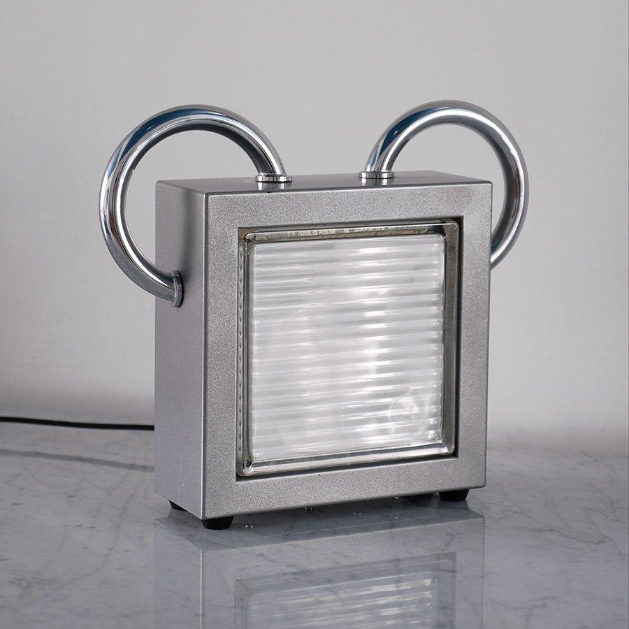 Topolino Tischlampe von Matteo Thun für Bieffeplast, 1980er