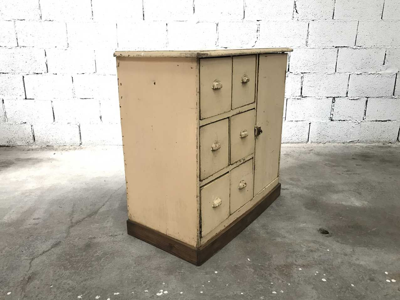 Mueble de cocina vintage de madera en venta en Pamono