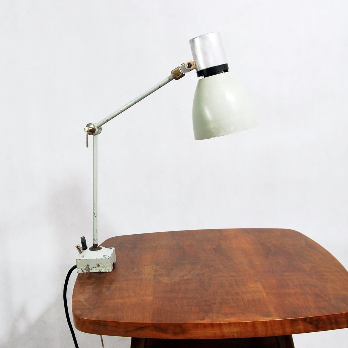 Tschechoslowakische Werkbank Lampe des Modells 110430 von ESC, 1960er