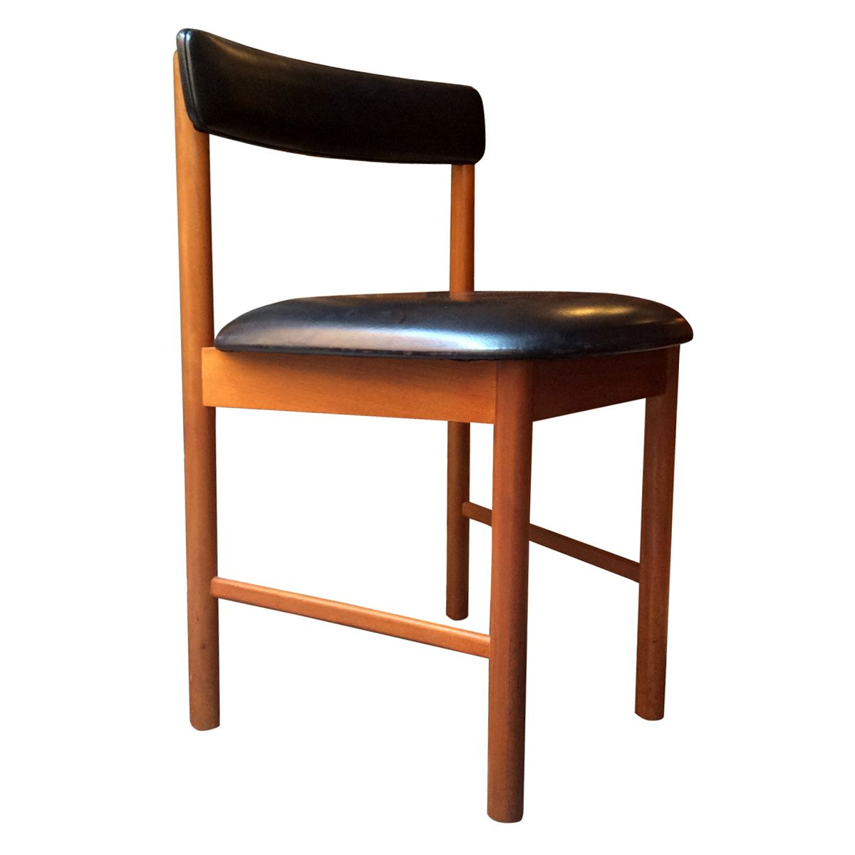 English Dining Chairs, 1960s, Set Of 4