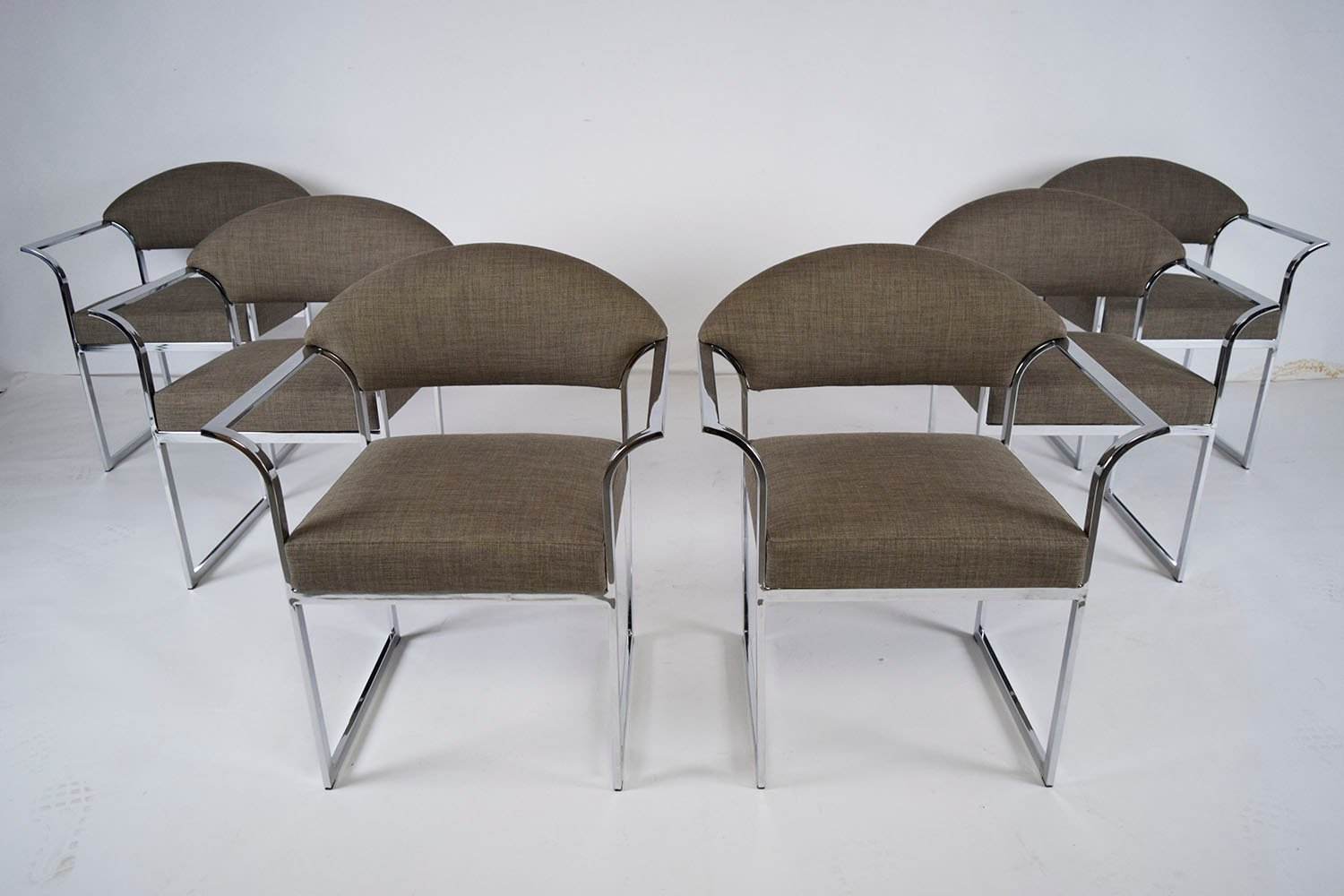 Mid-Century Modern Dining Chairs, 1960s, Set of 6 for sale ...