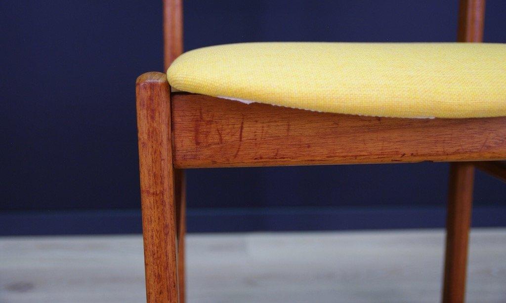 d nischer mid century teak stuhl bei pamono kaufen. Black Bedroom Furniture Sets. Home Design Ideas