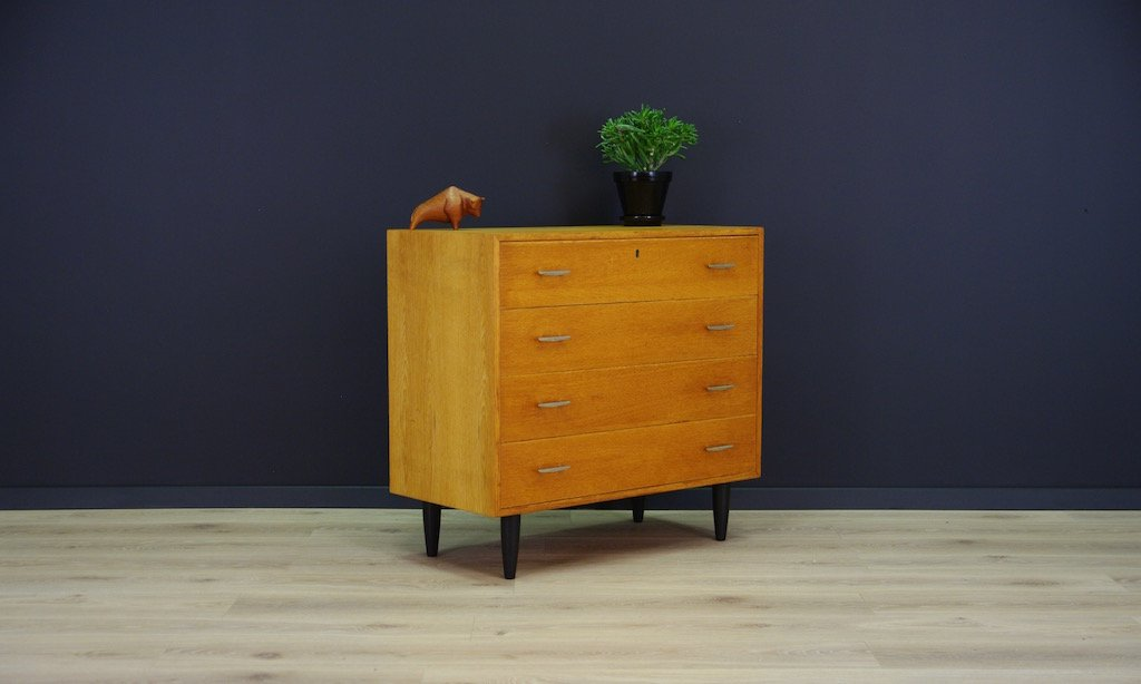 armoire scandinave vintage en contreplaqu de fr ne en vente sur pamono. Black Bedroom Furniture Sets. Home Design Ideas