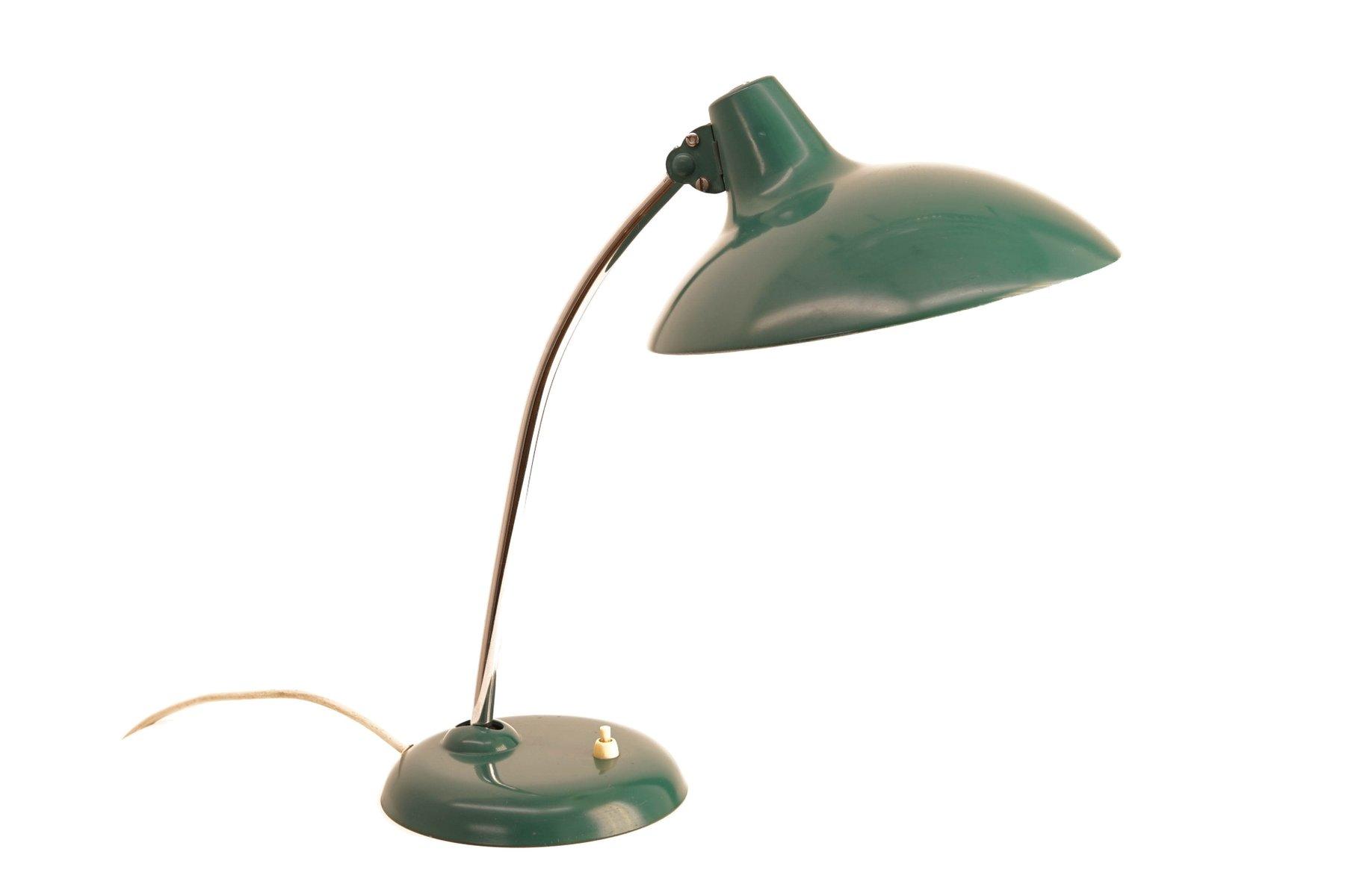 Lampada da tavolo nr 6786 vintage con paralume verde di - Lampada da tavolo verde ...