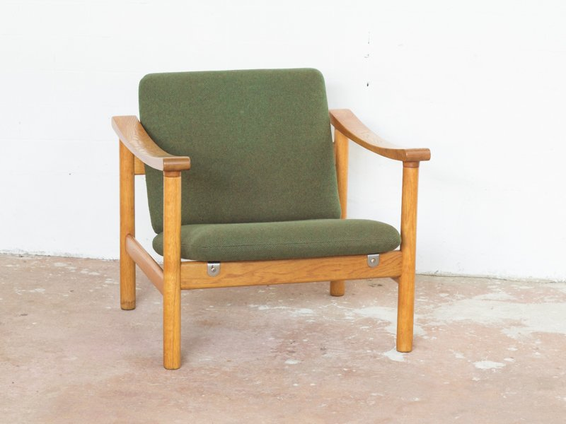Mid-Century Sessel aus Eiche von Hans J. Wegner für Getama