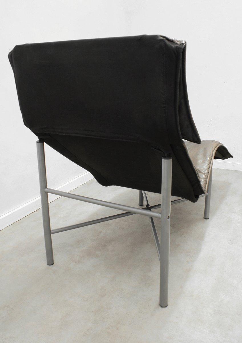 Chaise longue skye en cuir marron par tord bj rklund pour ikea 1980s en vente sur pamono - Chaise longue en anglais ...