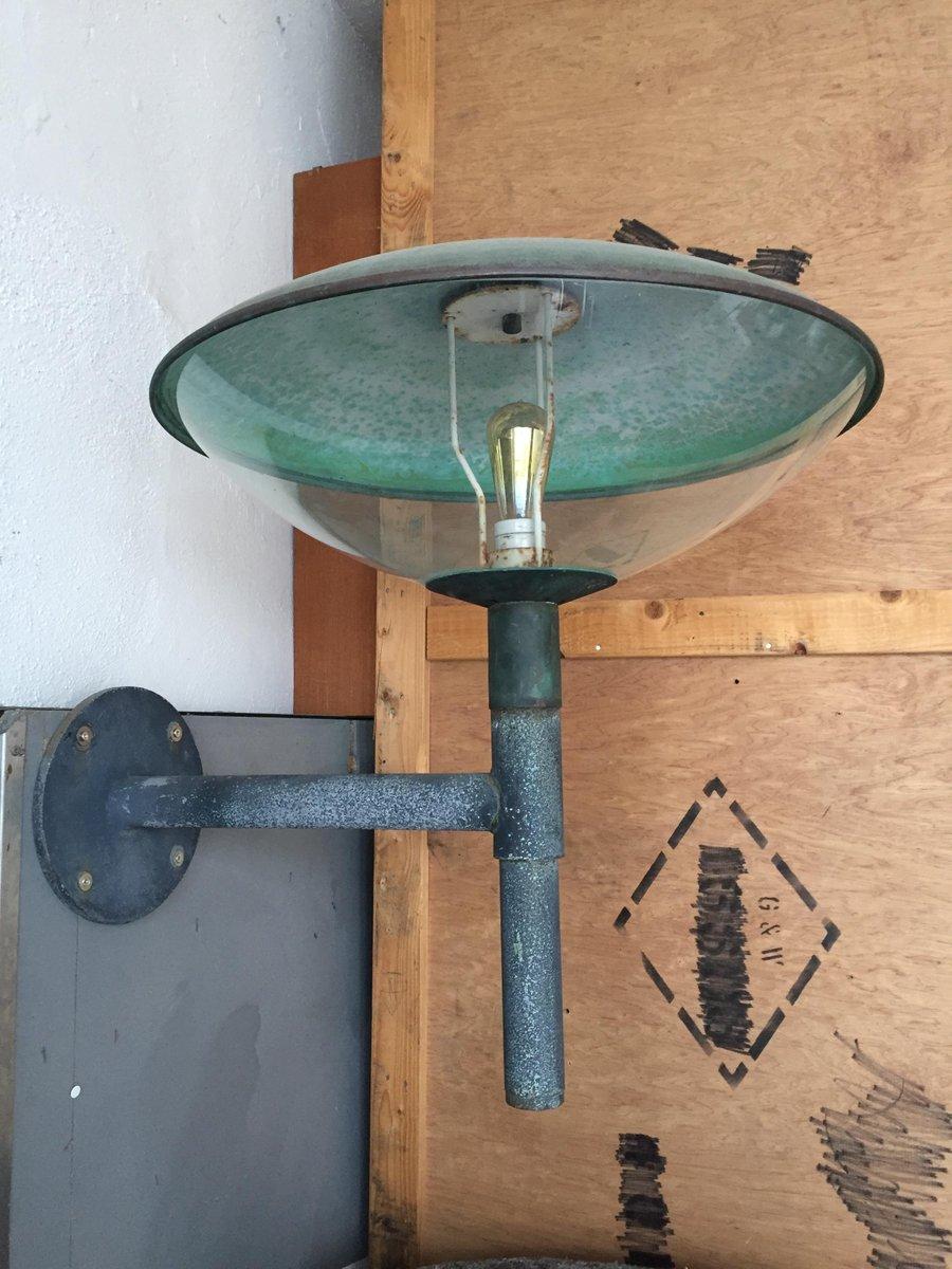 Vintage Outdoor Wandlampe von Henning Larsen für Fog & Morup