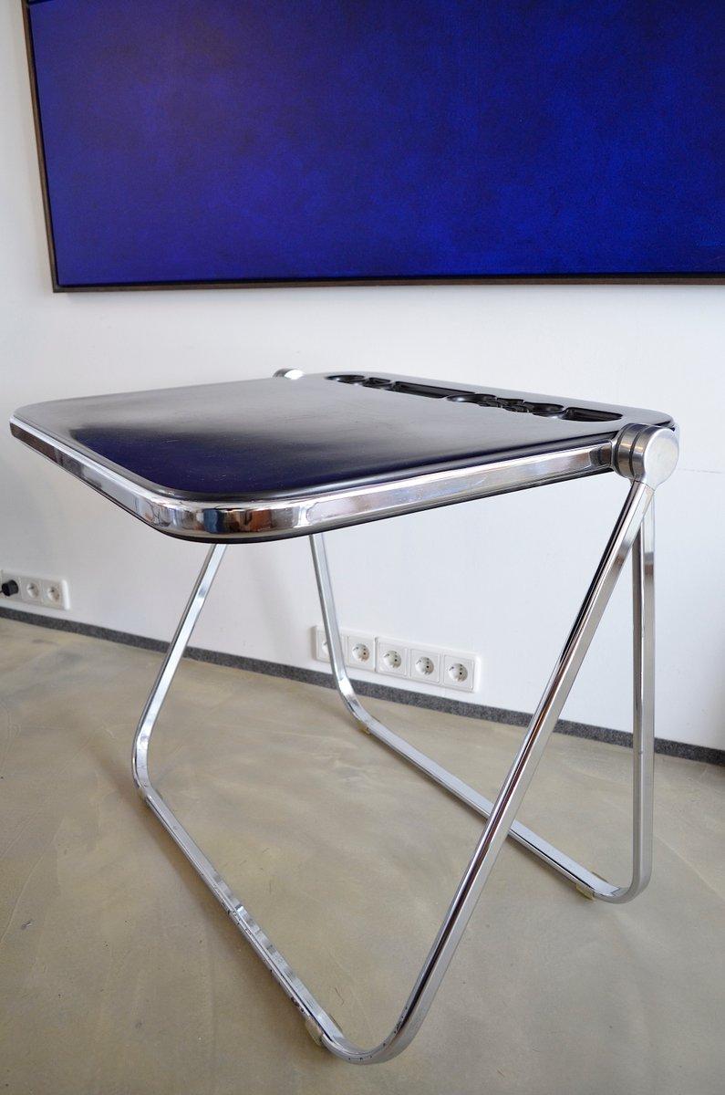 italian platonic folding table by giancaelo piretti for anonima castelli 1970s for sale at pamono. Black Bedroom Furniture Sets. Home Design Ideas