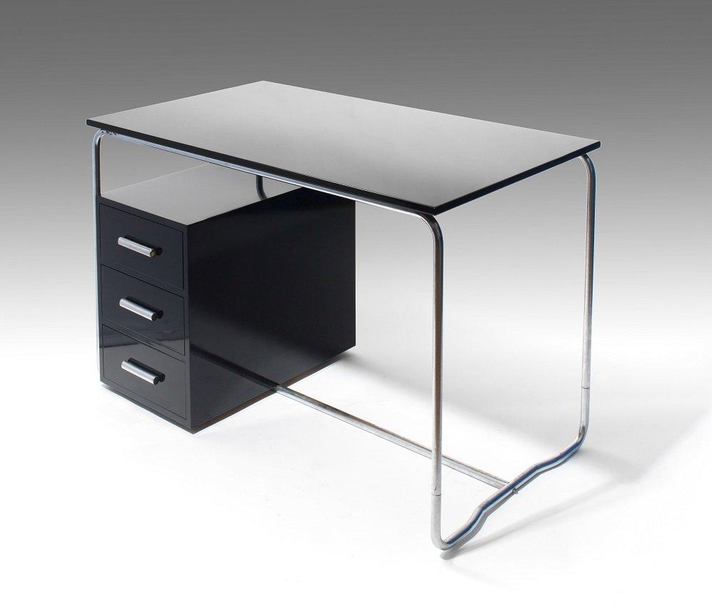 schreibtisch von marcel breuer f r thonet 1930er bei pamono kaufen. Black Bedroom Furniture Sets. Home Design Ideas