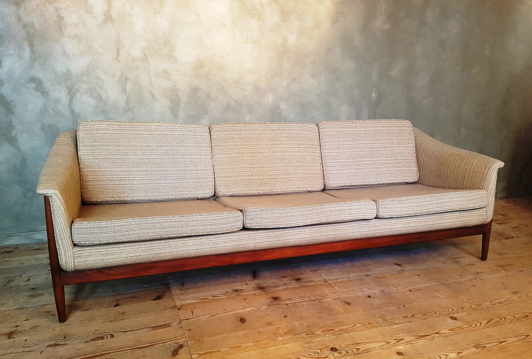 vintage 3 sitzer sofa von dux bei pamono kaufen. Black Bedroom Furniture Sets. Home Design Ideas