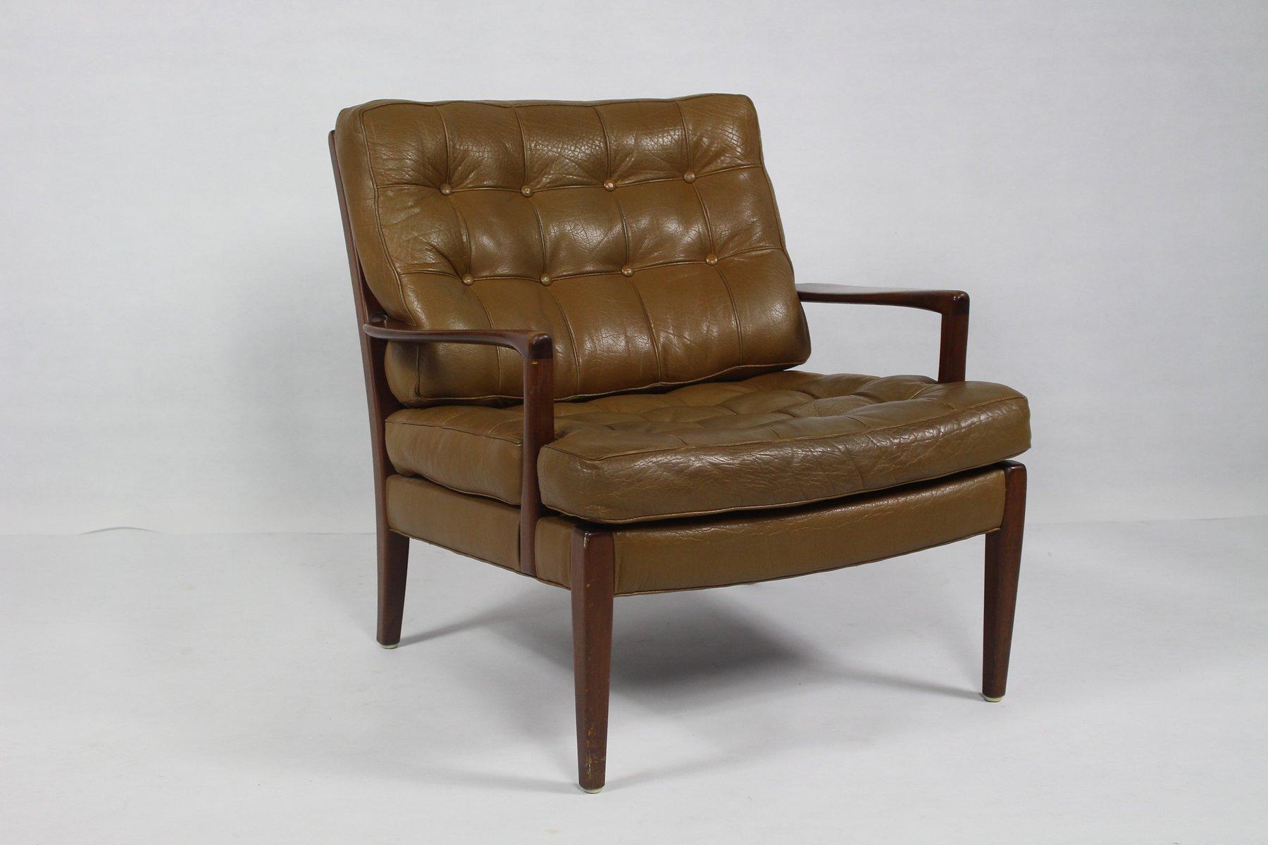 Vintage Lo?ven Sessel von Arne Norell