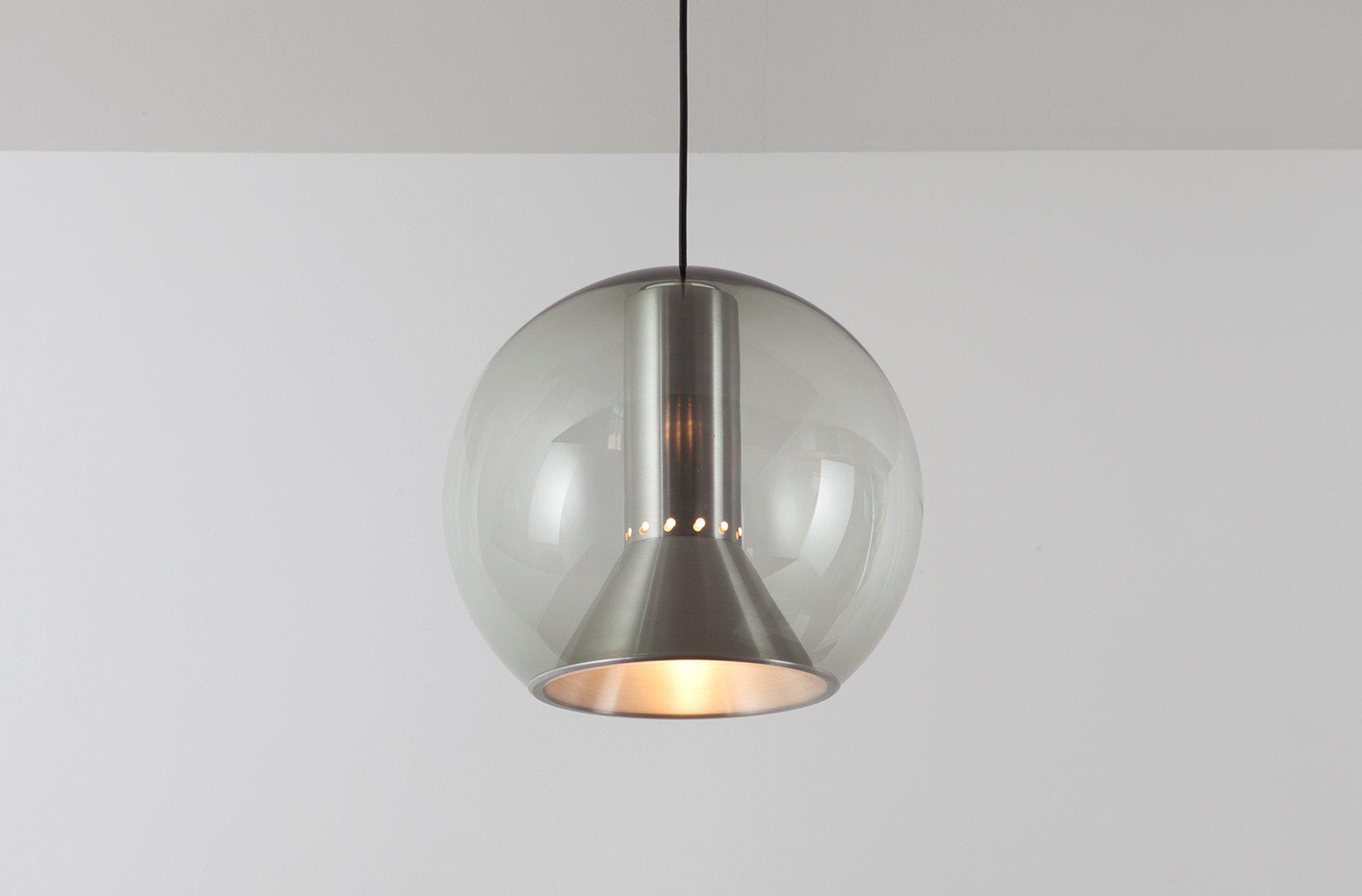 b glaskugel h ngelampe von frank ligtelijn f r. Black Bedroom Furniture Sets. Home Design Ideas