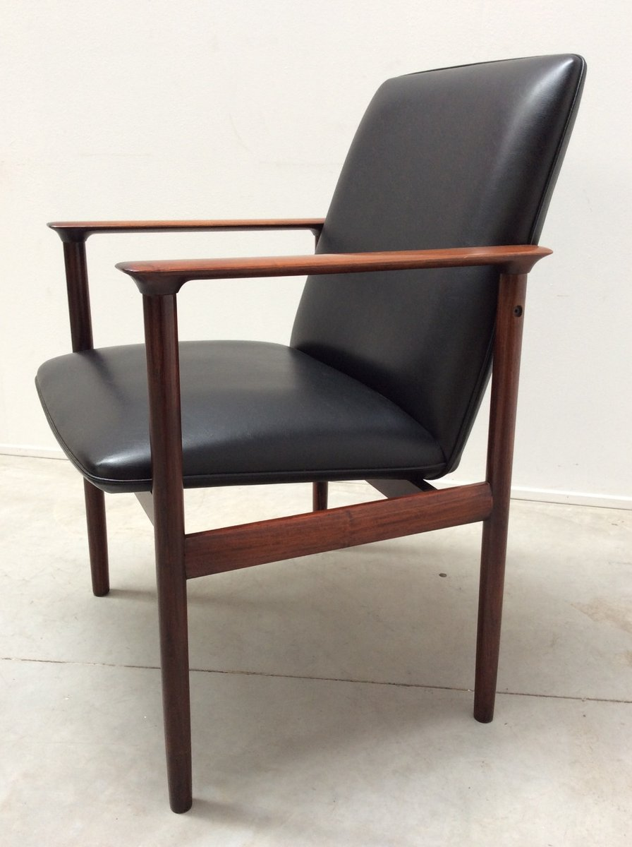 mid century diplomat sessel von arne vodder f r sibast bei pamono kaufen. Black Bedroom Furniture Sets. Home Design Ideas