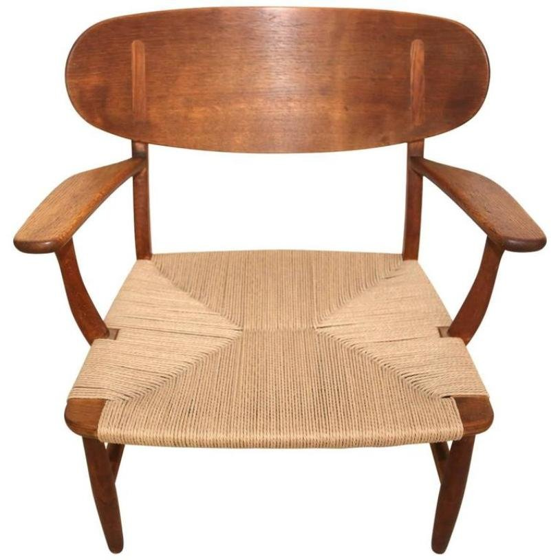 CH22 Shell Chair By Hans Wegner For Carl Hansen U0026 Søn, 1951