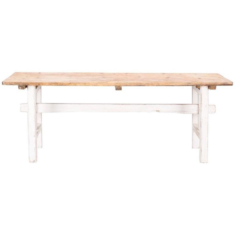 Schwedischer Holztisch, 1800er