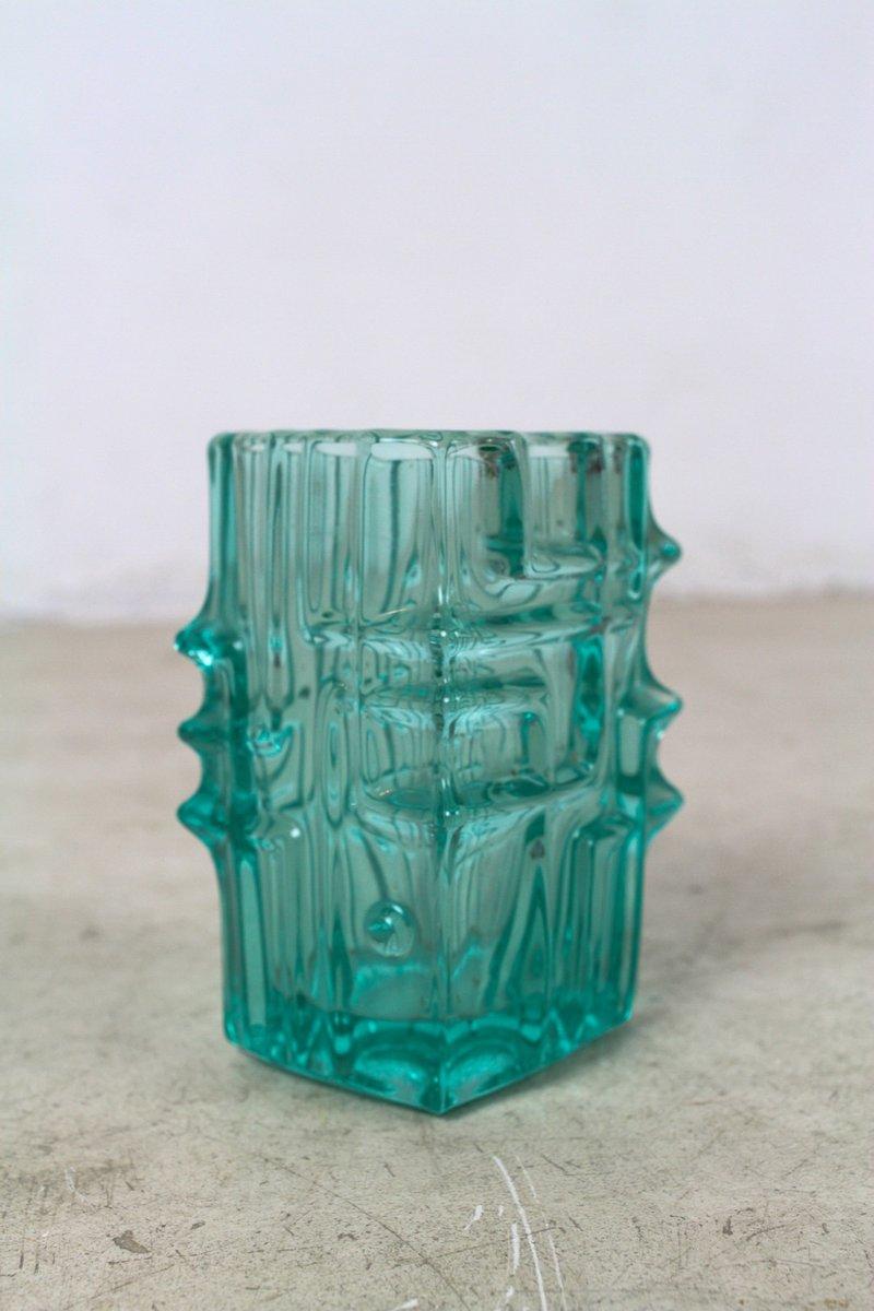 Gr ne vintage glasvase von vladislav urban bei pamono kaufen - Glasvase vintage ...