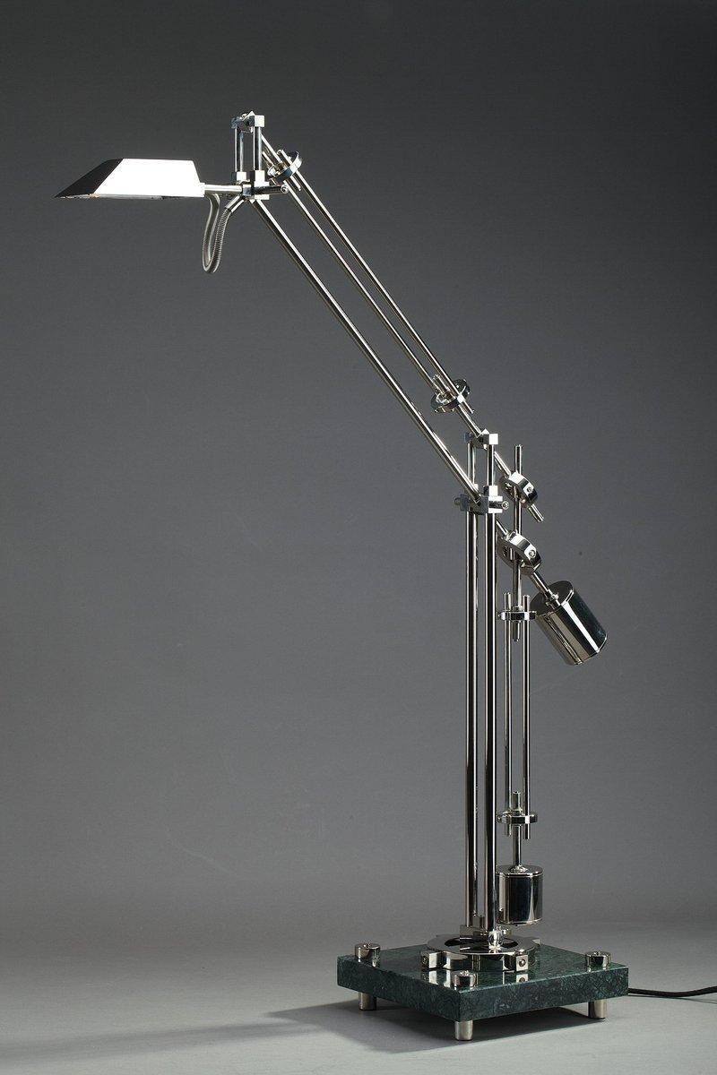 Verchromte Stahl-Lampe von Zoran Bijelic, 1980er