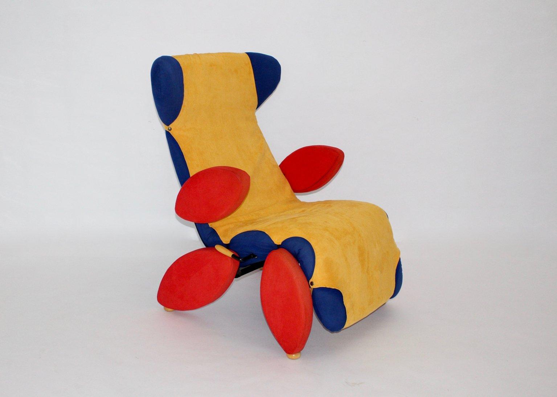 Chaise Longue Pop Art 1980s