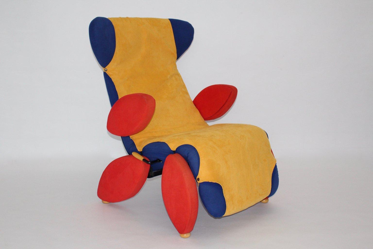 pop art sessel 1980er bei pamono kaufen. Black Bedroom Furniture Sets. Home Design Ideas