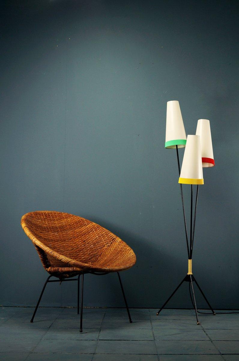 Tripod Kegel-Lampe, 1950er
