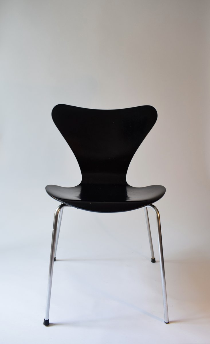 serie 7 stuhl von arne jacobsen f r fritz hansen 1966 bei pamono kaufen. Black Bedroom Furniture Sets. Home Design Ideas