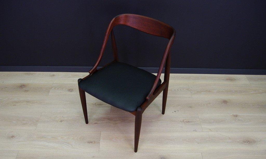 d nischer vintage teak stuhl von johannes andersen f r. Black Bedroom Furniture Sets. Home Design Ideas