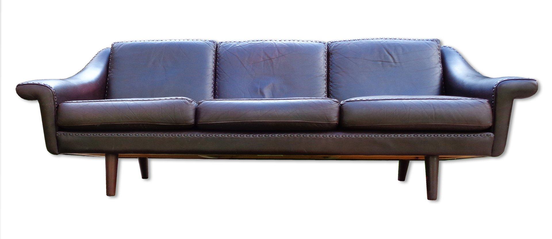 leder sofa von de sede 1960er bei pamono kaufen. Black Bedroom Furniture Sets. Home Design Ideas