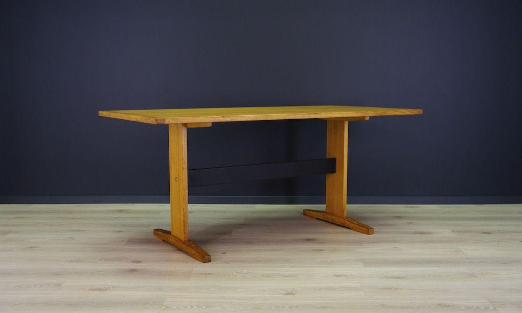 Wunderbar Skandinavischer Vintage Tisch Mit Esche Furnier