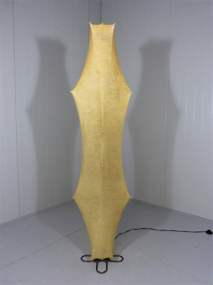 Kleine vintage Bodenlampe von Tobia und Afra Scarpa für Flos