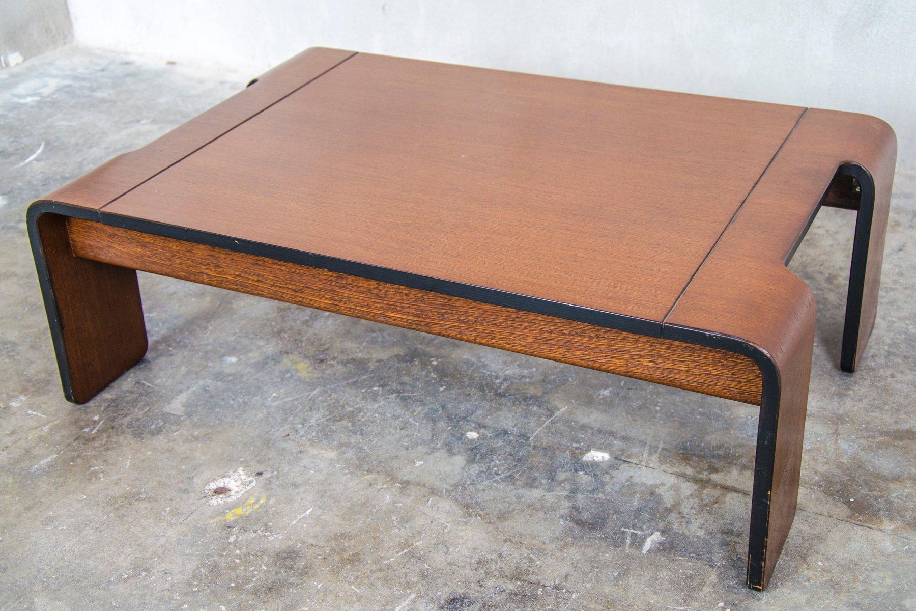 table basse en weng de t spectrum 1970s en vente sur pamono. Black Bedroom Furniture Sets. Home Design Ideas
