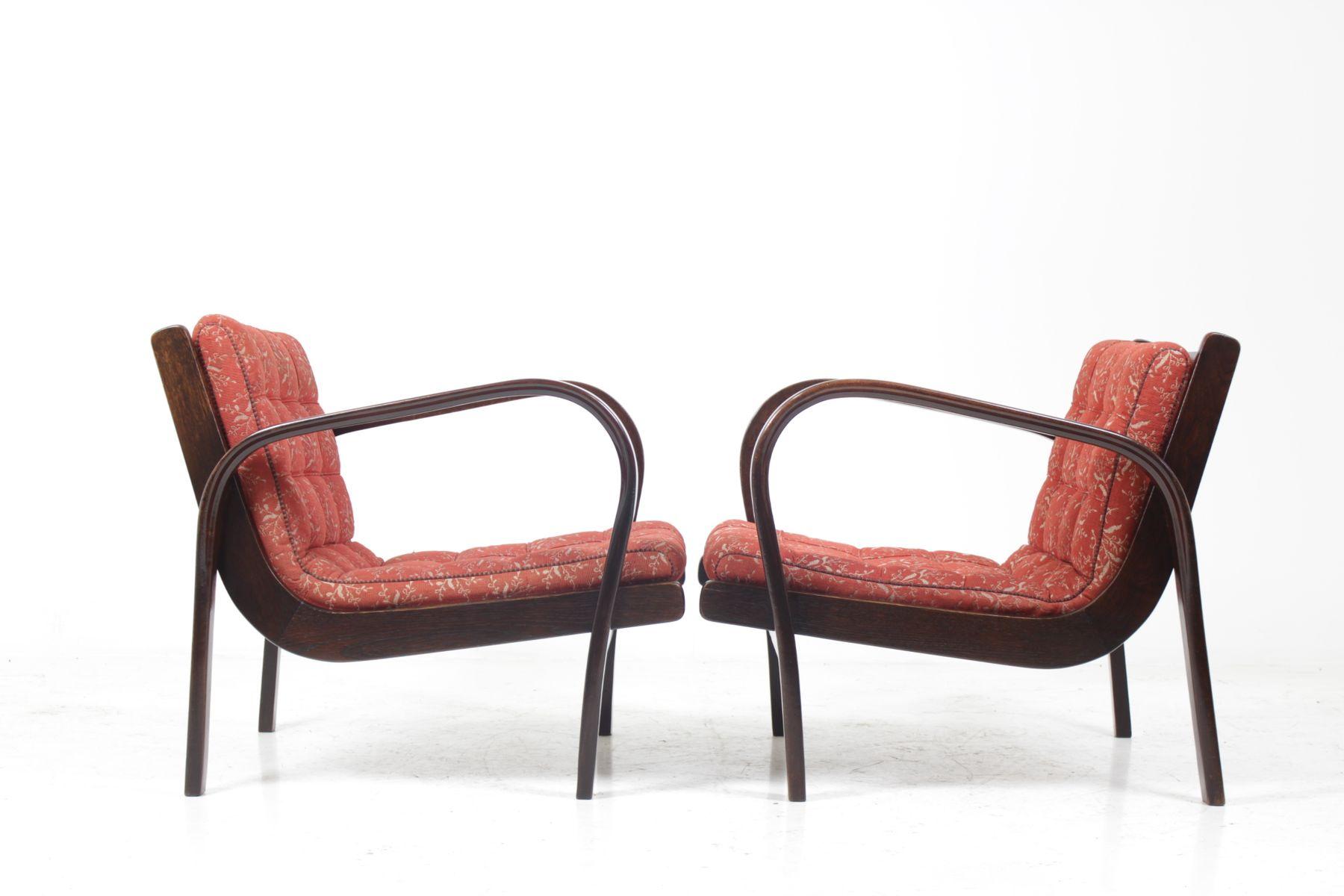 vintage sessel und couchtisch set von karel kozelka anton n krop ek bei pamono kaufen. Black Bedroom Furniture Sets. Home Design Ideas