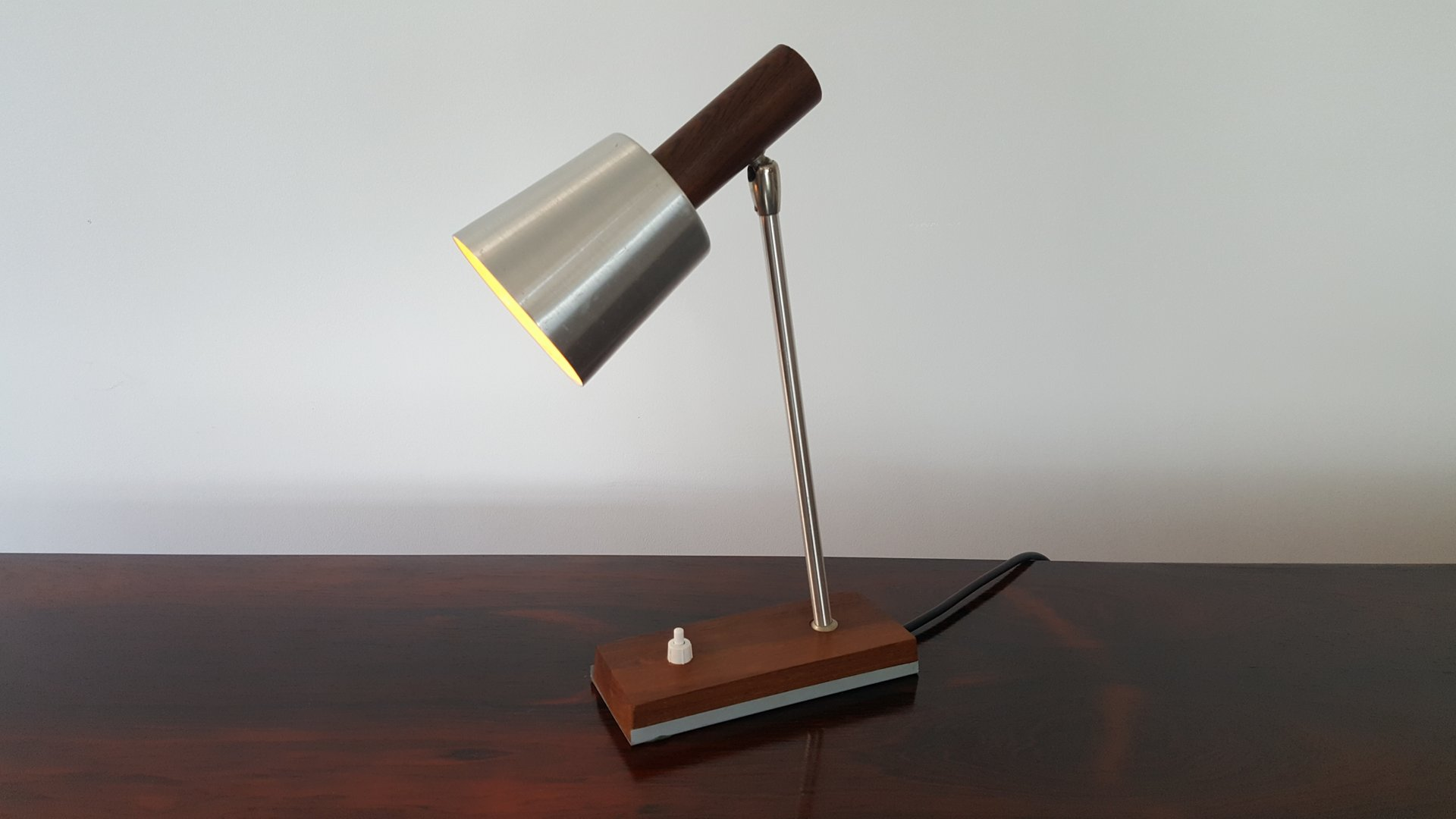 Dänische Silva Tischlampe von Lyfa, 1970er