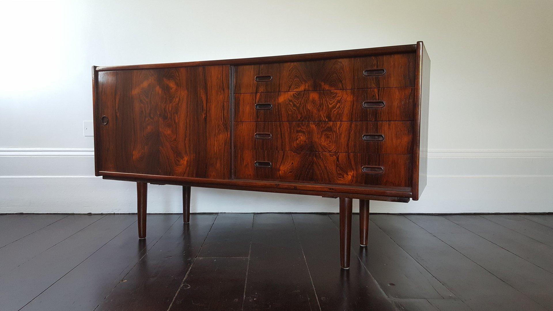 Danish Rosewood Credenza : Danish mid century rosewood credenza for sale at pamono