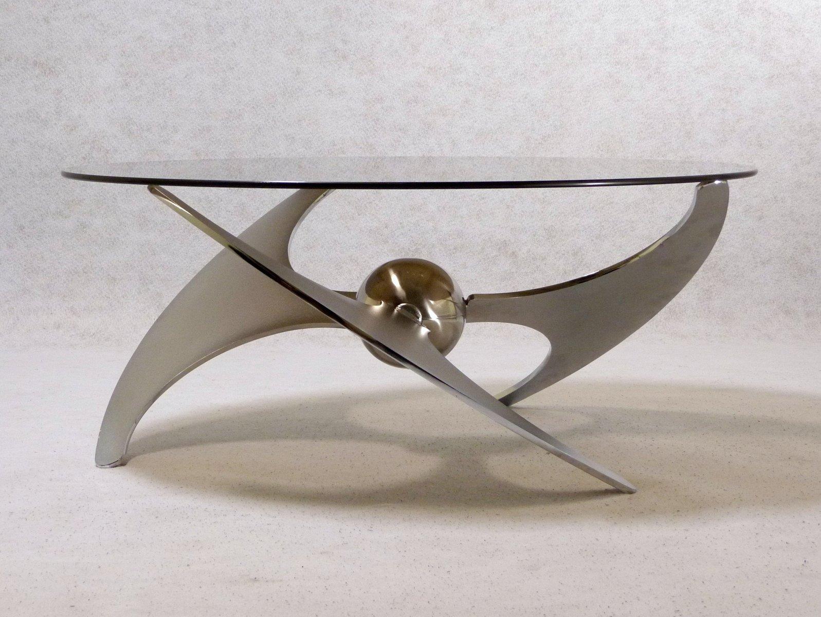 Propeller Tisch von L. Campanini für Cama, 1973