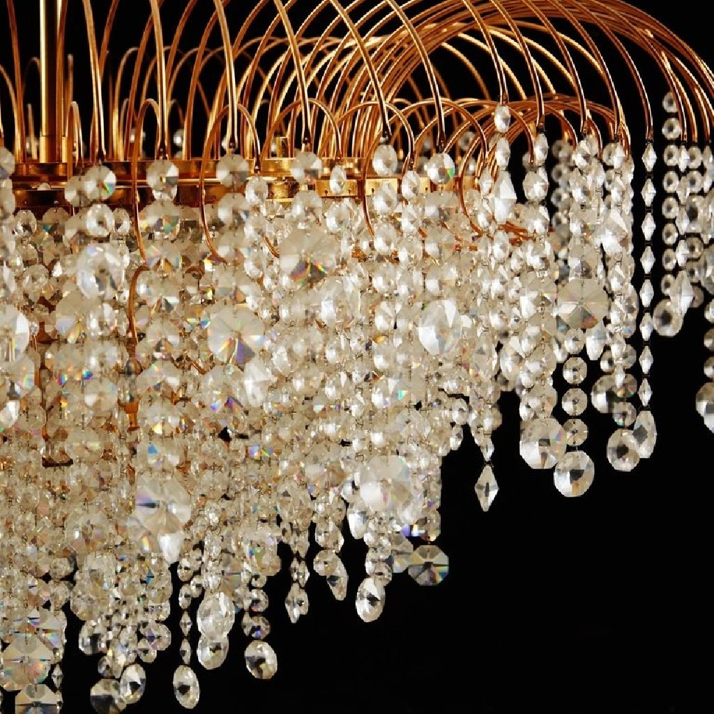 price of a haircut vintage swedish cut chandelier 1976 for at 5047