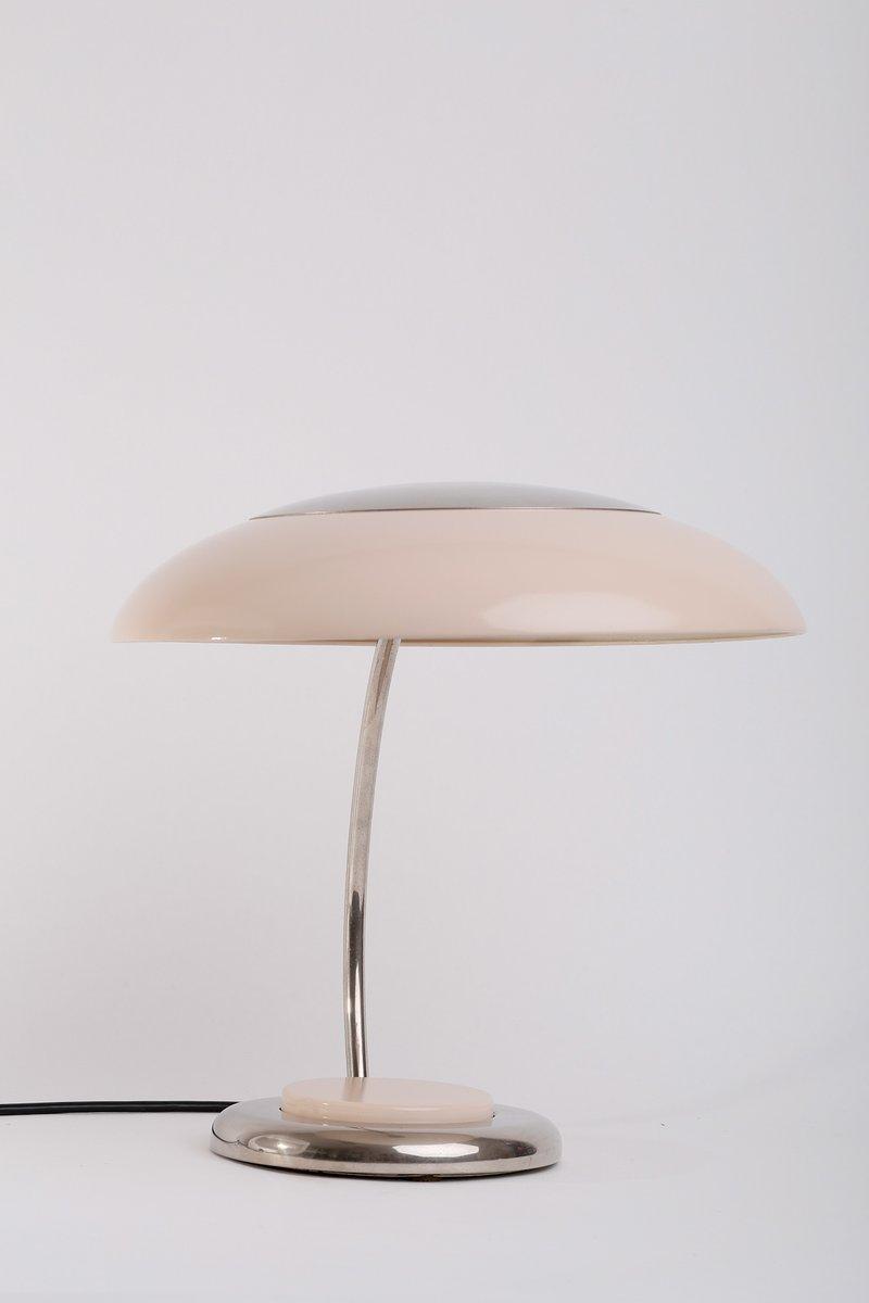 Lampada da tavolo vintage color pastello anni 39 60 in vendita su pamono - Lampada da tavolo vintage ...
