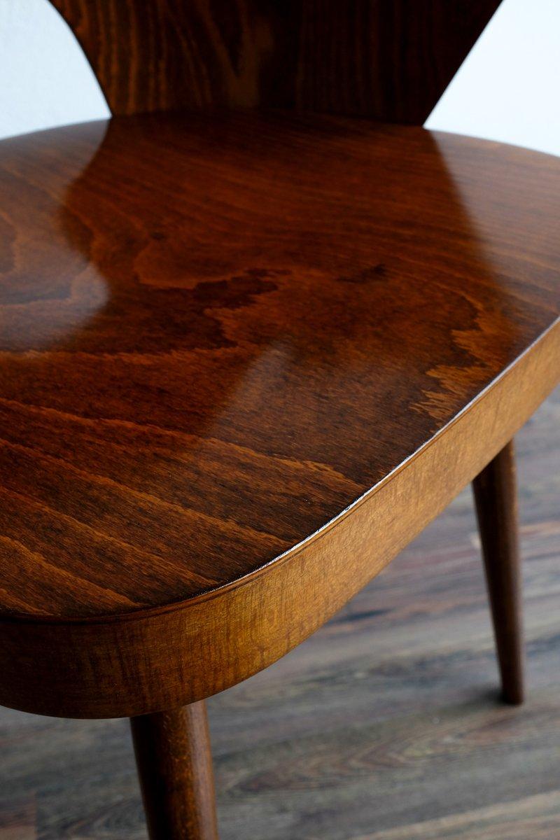 mid century stuhl von lubom r hofmann f r ton bei pamono kaufen. Black Bedroom Furniture Sets. Home Design Ideas