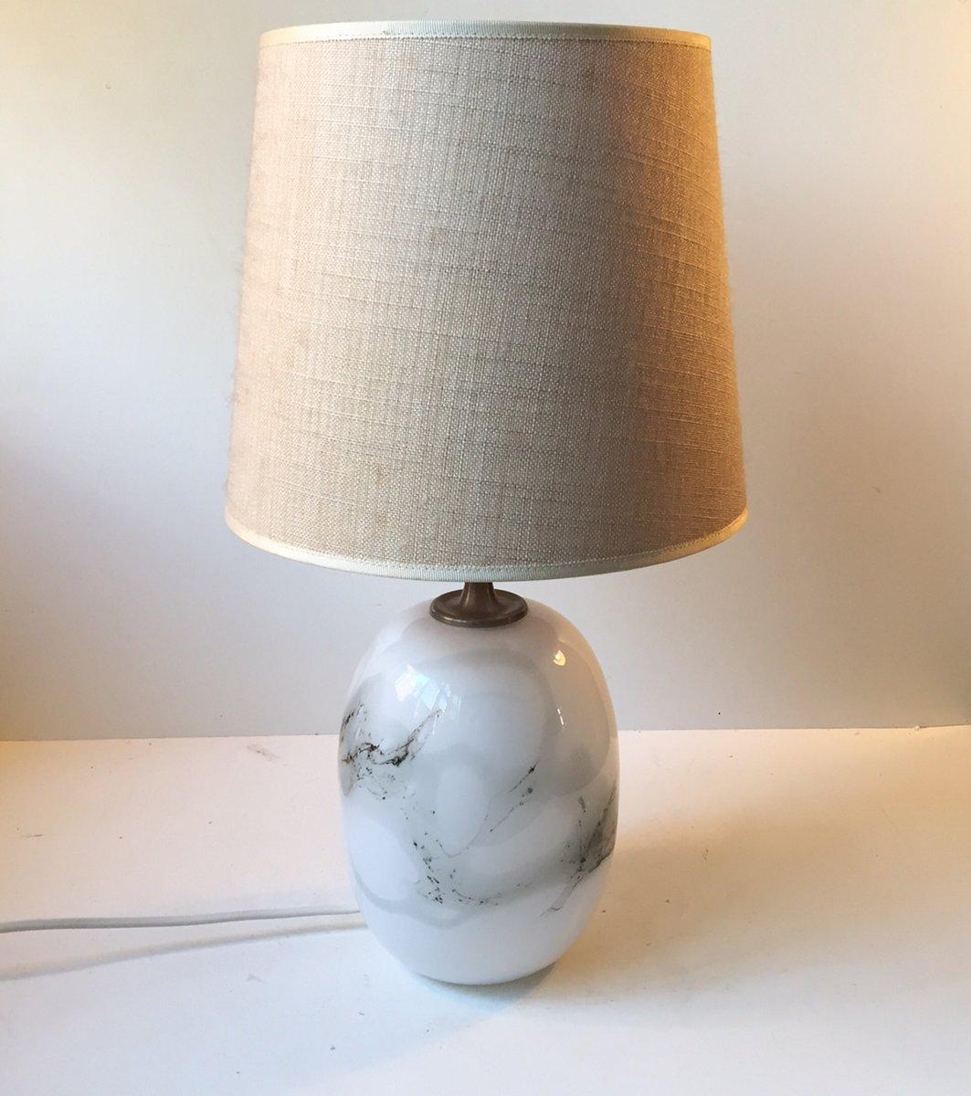 Moderne Dänische Sakura Tischlampe von Michael Bang für Holmegaard, 19...