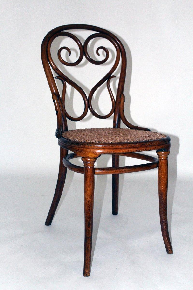 Sedia Nr. 4 Cafè Daum antica di Michael Thonet per Thonet ...