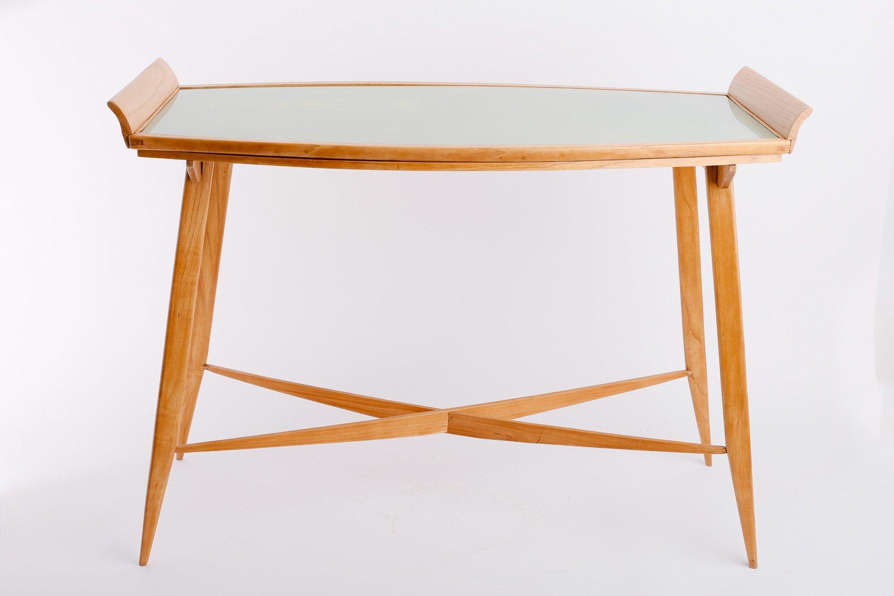 skandinavischer beistelltisch mit tablett bei pamono kaufen. Black Bedroom Furniture Sets. Home Design Ideas