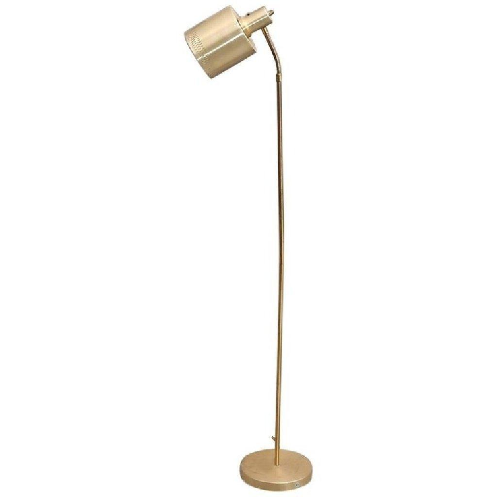 Messing Stehlampe, 1970er