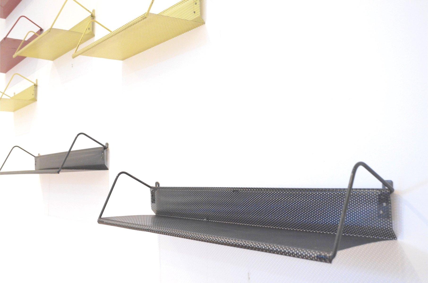 vintage metall b cherboards in drei farben von mathieu mat got f r artimeta 9er set bei pamono. Black Bedroom Furniture Sets. Home Design Ideas