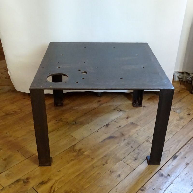 Vintage Metal Coffee Table For Sale At Pamono