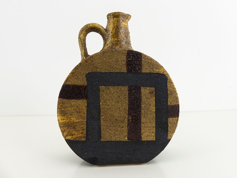 Ceramic Pitcher Vase By Aldo Londi For Bitossi 1950s For Sale At Pamono