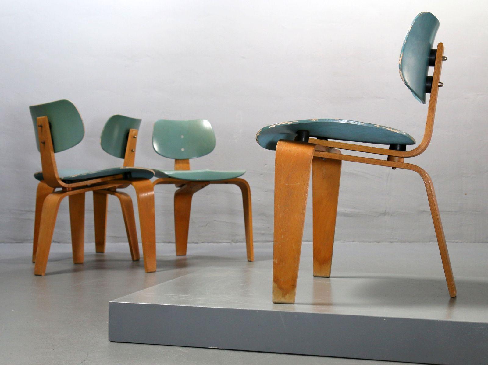 vintage tisch st hle von egon eiermann f r spieth holztechnik 5er set bei pamono kaufen. Black Bedroom Furniture Sets. Home Design Ideas