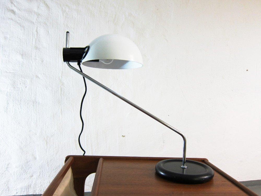 lampe de bureau vintage de guzzini en vente sur pamono. Black Bedroom Furniture Sets. Home Design Ideas