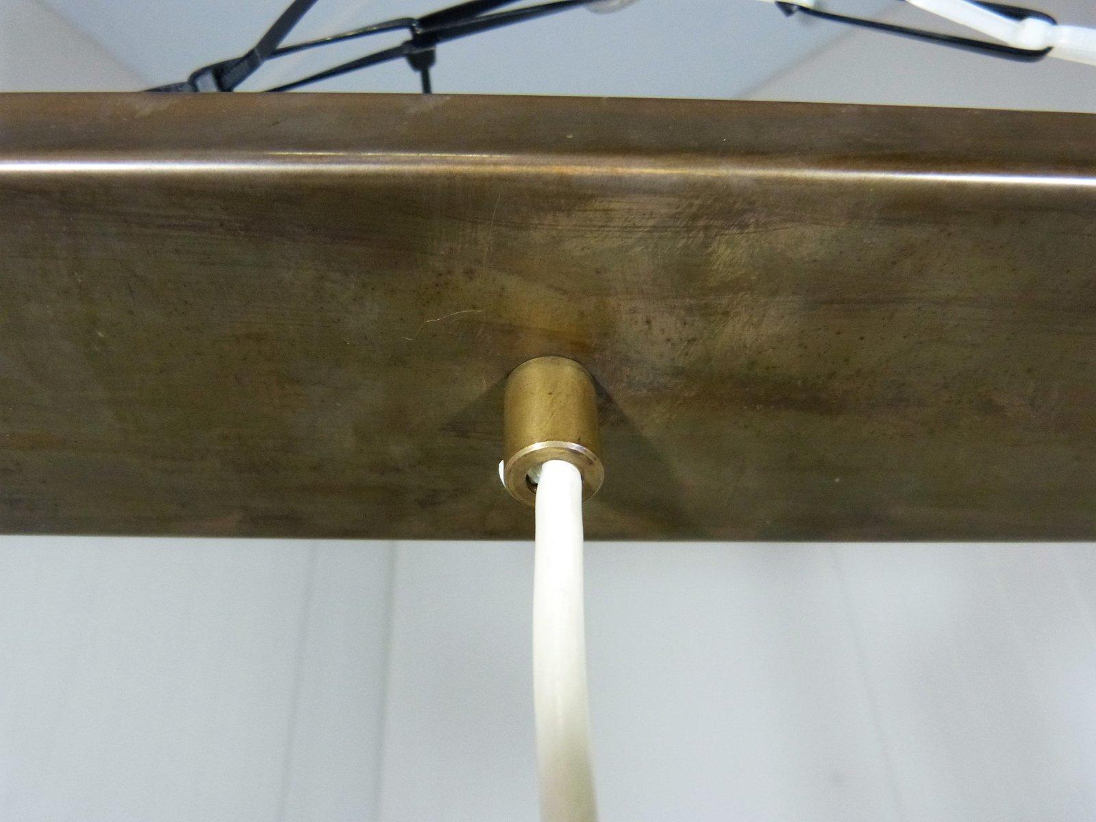 lampe suspension trois lampes 1980s en vente sur pamono. Black Bedroom Furniture Sets. Home Design Ideas