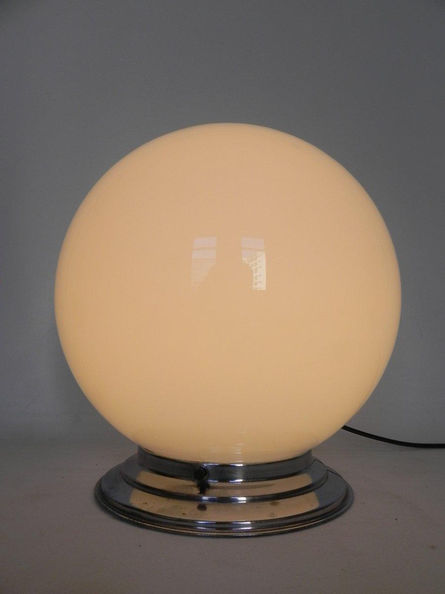 plafonnier art d co avec grand globe en verre france en. Black Bedroom Furniture Sets. Home Design Ideas